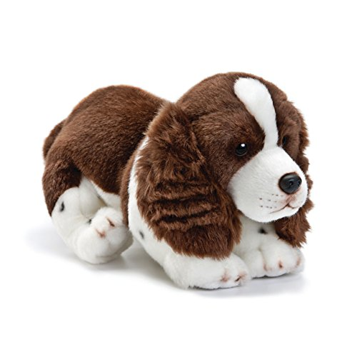 Nat and Jules Playful Large Springer Spaniel Dog Children's Plush Stuffed Animal Toy ()