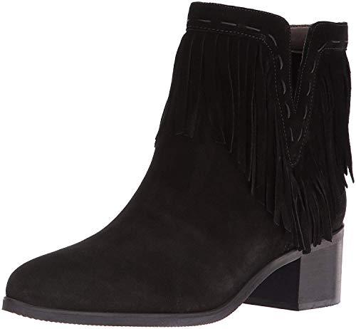 (Bella Vita Women's Tex-Italy Bootie,Black Suede,US 8 N)