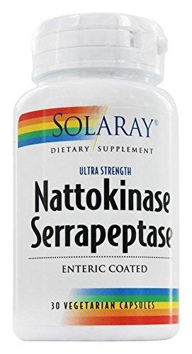 Nattokinase & Serrapeptase - 30 - VegCap