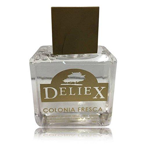 Bote pequeño de colonia fresca unisex para detalles Deliex 35 ml