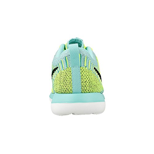 Nike Kids Roshe Two FlyKnit (GS) Running Shoes Hyper Turq/Black-volt-clr Jade MSohKQVt24