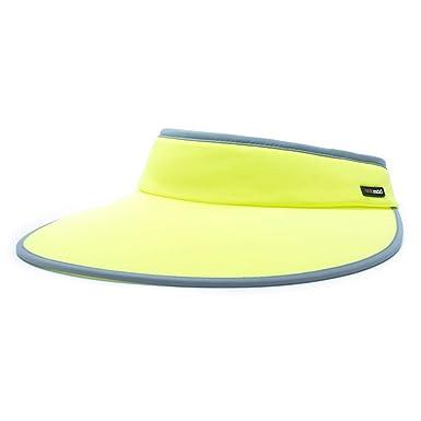 79e1c284d HOII Anti-UV Classic Wide-Rim Sun Visor Hat UPF 50+ One-Size