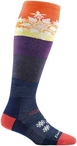 Darn Toughスノーフレークover the calf Light Sock – Women 's