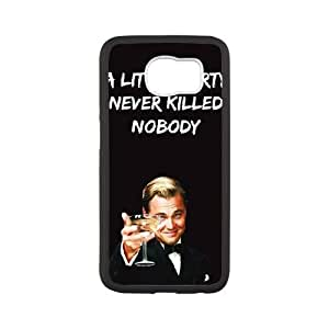 Samsung Galaxy S6 Cell Phone Case White Wolf Of Wall Street VJJ