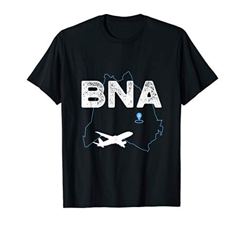Nashville Airport - BNA Airport Code Nashville T-Shirt