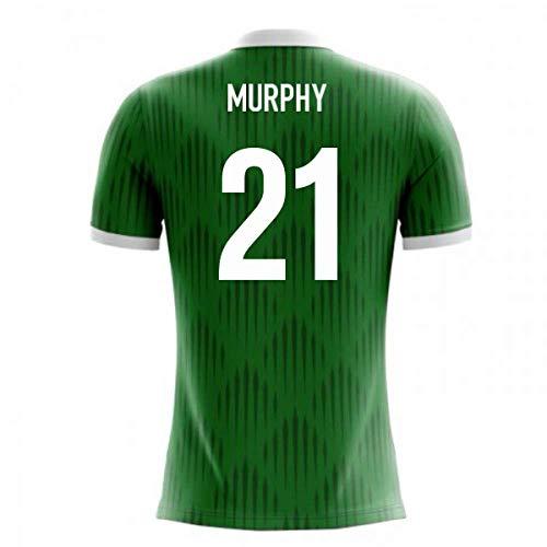 (2018-19 Ireland Airo Concept Home Football Soccer T-Shirt Jersey (Daryl Murphy 21))