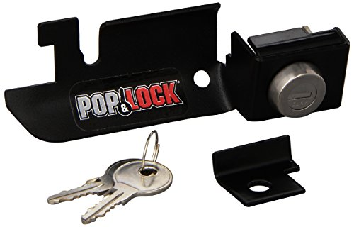 Pop & Lock PL2310 Black Manual Tailgate Lock for Mazda/Ford (Works only with factory plastic handle)