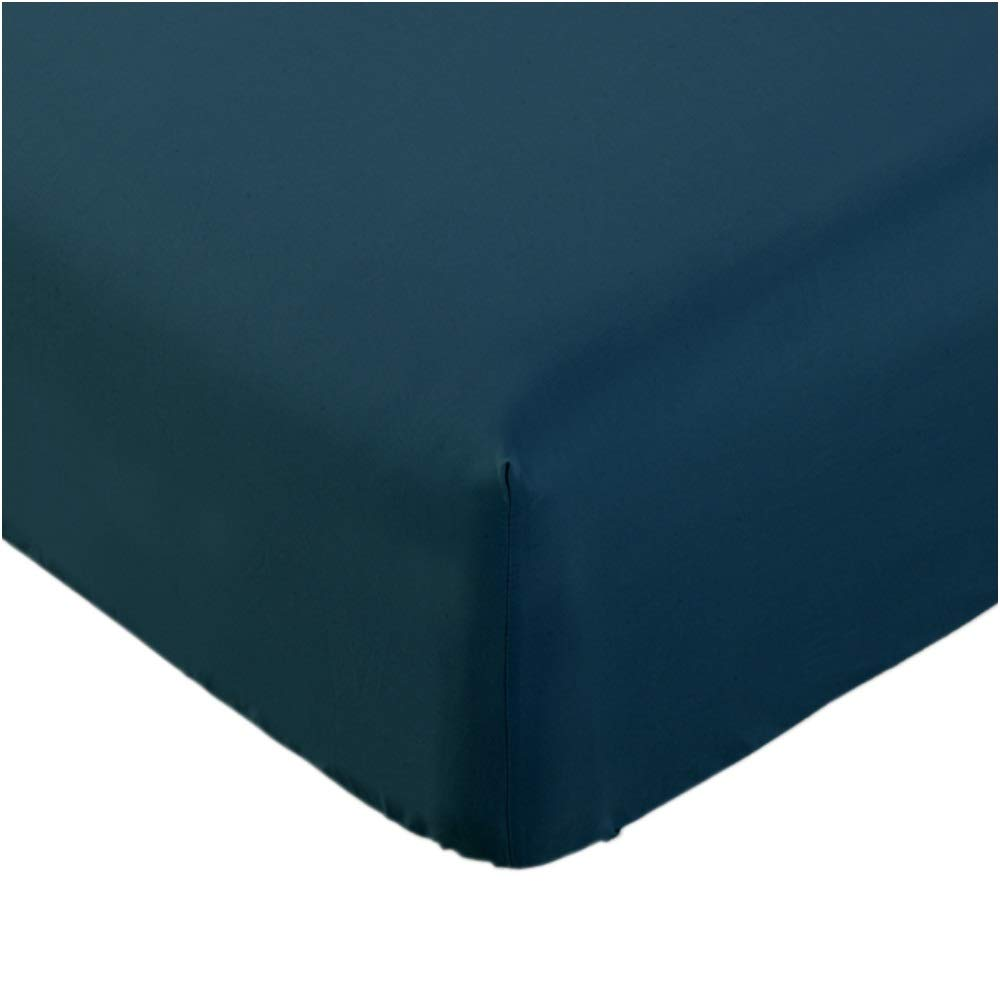 Mellanni Fitted Sheet King Royal-Blue - Brushed Microfiber 1800 Bedding - Wrinkle, Fade, Stain Resistant - Hypoallergenic - 1 Fitted Sheet Only (King, Royal Blue)