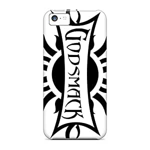 Protector Hard Cell-phone Case For Iphone 5c With Allow Personal Design Colorful Godsmack Band Pictures Marycase88