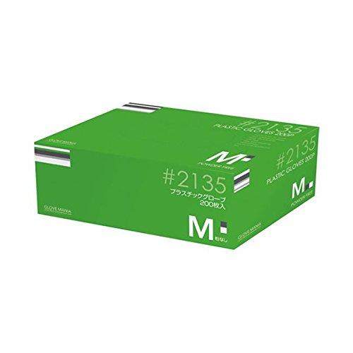 川西工業 プラスチックグローブ #2135 M 粉なし 15箱 ダイエット 健康 衛生用品 その他の衛生用品 14067381 [並行輸入品] B07GTV9GNP