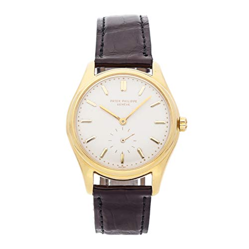 - Patek Philippe Calatrava Mechanical (Automatic) Ivory Dial Mens Watch 2526J (Certified Pre-Owned)