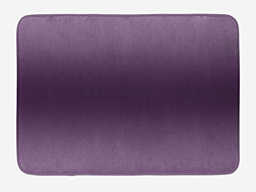 Ombre Bath Mat, Hollywood Glam Show Inspired Color Ombre Design Abstract Representation Digital Image, Plush Bathroom Decor Mat with Non Slip Backing, 23.6 W X 15.7 W Inches, - Cashmere Glam