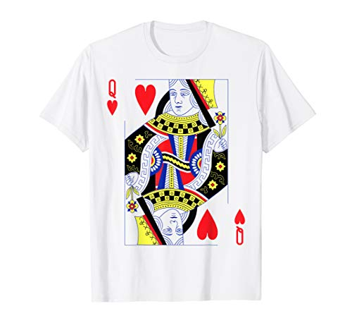 Queen of Hearts, Card Deck Halloween Group Costume T-Shirt]()