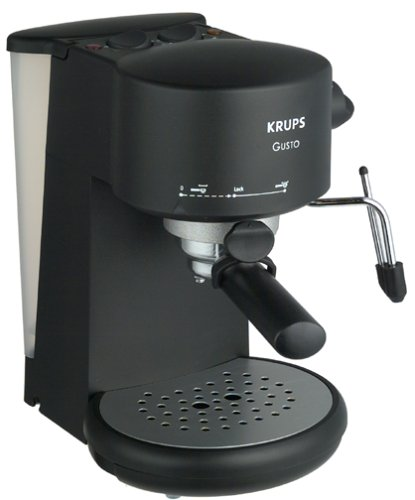 krups 880 42 gusto pump espresso machine semiautomatic. Black Bedroom Furniture Sets. Home Design Ideas