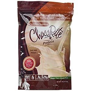 ChocoRite Protein Chocolate Supreme Shake Mix, Chocolate Supreme, 14.7 Ounce