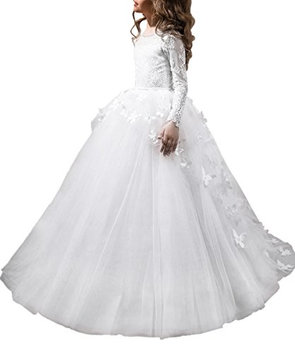 Lovely First Communion Dress Sleeves product image