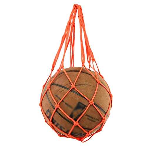 George Jimmy Outdoor Gym Football Pocket Orange Volleyball Net Mesh Bag by George Jimmy