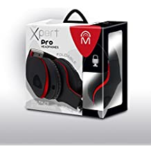 Mental Beats 61860-R Mental Beats Xpert Pro HeadPhones - Red