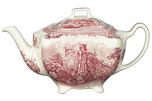 Castle Johnson Brothers - Johnson Brothers Old Britain Castles Pink Teapot