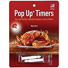 HIC Pop-Up Timers for Turkey (Set of 2)