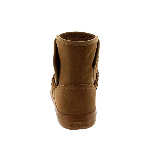 Crocs - Bottine En Suède Lodgepoint - Noisette, Dimensione: Eur 41-42