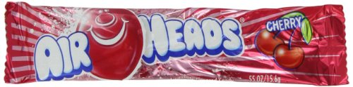 Airheads Cherry, 0.55-Ounce Packages (Pack of 144)