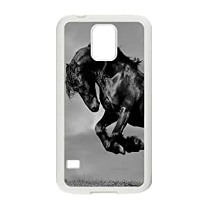 Custom Colorful Case for SamSung Galaxy S5 I9600, Galloping Horse Cover Case - HL-R669812