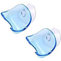 Primi claro Ventosa–Soporte de plástico accesorio de baño