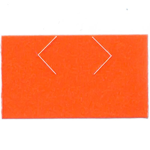 Monarch 1131 Compatible Labels - Fluorescent Red - 20,000 Labels - Pack with 8 rolls - Labels for Us by Labels for Us (Image #2)