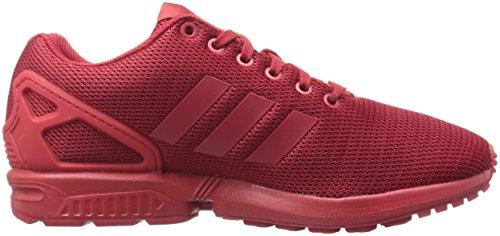 Adidas Originaler Menns Zx Flux Mote Sneaker Makt Rød / Universitet Rød / Kardinal
