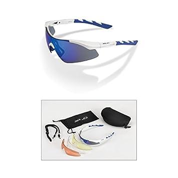 XLC Gafas de sol Komodo SG de C09 Marco Color Blanco/Azul ...