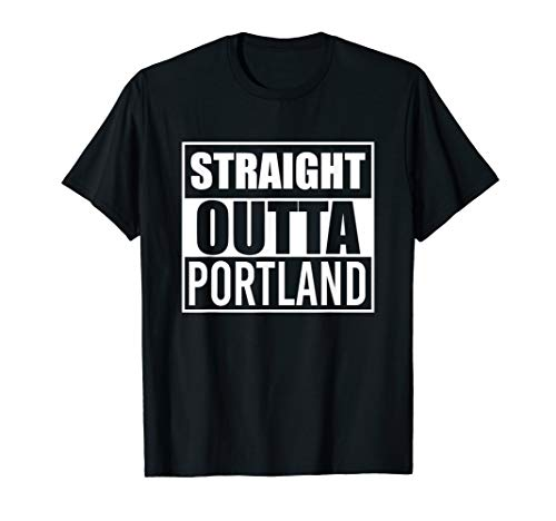 (Straight Outta Pomona Funny Best Gift California CA State T-Shirt)