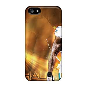 Cute Appearance Cover/tpu Brandon Marshall Case For Iphone 5/5s