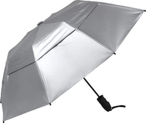 Haas-Jordan Urbanite Reflector Golf Umbrella Silver