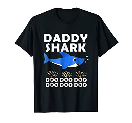 Daddy Shark Shirt, Fathers Day Gift from Wife Son Daughter