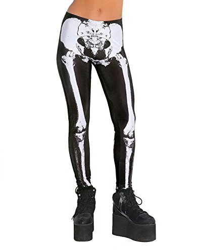Skeleton Costume Leggings