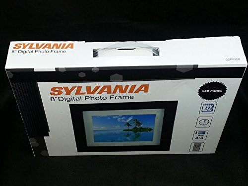 sylvania 8 premium digital photo frame price tracking price alert price history on solivanet