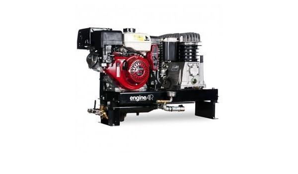 Compresor de aire térmica Mobile Motor Honda gasolina 4, 8 cv cubeta de 100 litros ABAC: Amazon.es: Bricolaje y herramientas
