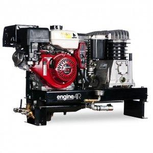 Compresor de aire térmica Mobile Motor Honda gasolina 4, 8 cv cubeta de 100 litros