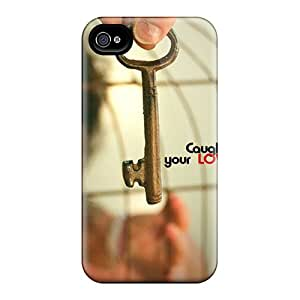 New MiMorton Super Strong Love Tpu Case Cover For Iphone 4/4s