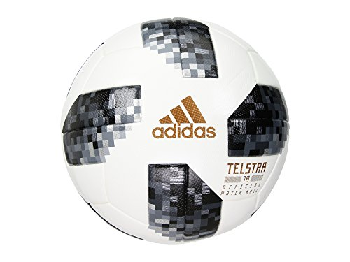 adidas Unisex World Cup Omb White/Black/Silver Metallic 5