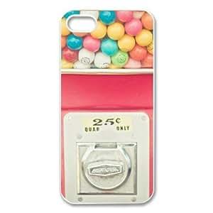 Treasure Design Funny Rainbow Bubblegum APPLE IPHONE 5 Best Durable Case