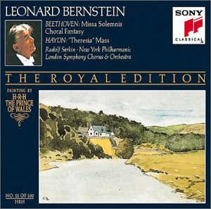 Beethoven: Missa Solemnis; Choral Fantasy / Haydn: Theresia Mass (Bernstein Royal Edition #11) by Sony