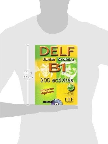 Delf Junior Scolaire B1: 200 Activites (French Edition): Alain Rausch, Corinne Kober-Kleinert, Elettra Mineni, Mariella Rainoldi: 9782090352368: Amazon.com: ...