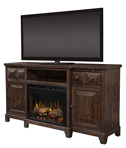 Cheap DIMPLEX Heinrich Media Console Electric Fireplace with Logs Black Friday & Cyber Monday 2019