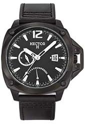 Hector Men's Black Dial Date Watch