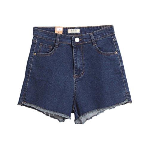Vita Hot Donna Blu Eleganti Pants Lihaer Da In Shorts Casual Donne Sexy A Denim Pantaloni Estivi Alta Z0vwgq