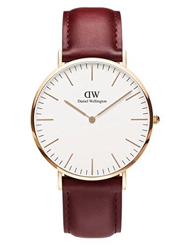 Daniel Wellington Limited Edition CLASSIC SUFFOLK Mens 40mm Watch Rose Gold DW00100120