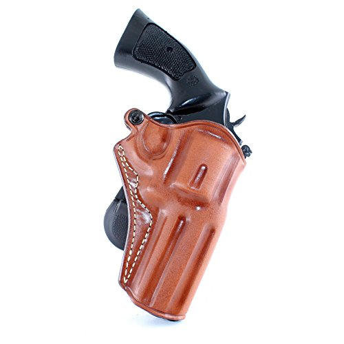Premium Leather Paddle Holster Fits S&W 686 3