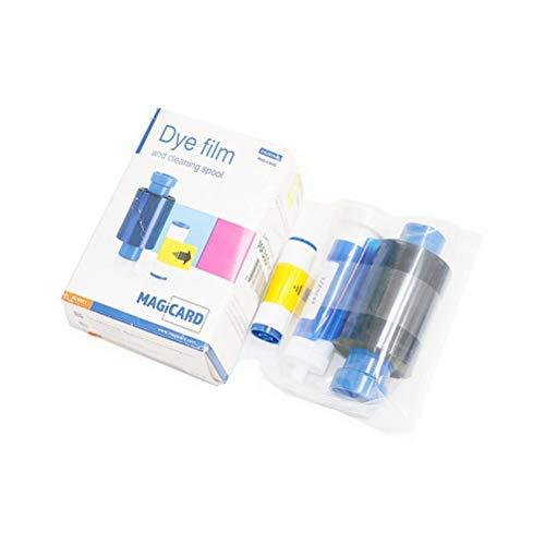 Dye Film - MA300YMCKO Color Ribbon, YMCKO Color Ribbon for Magicard Enduro Enduro3E, 300 Images Original Color Ribbon